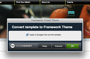 Using themes in Design Extender