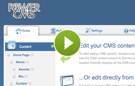 Create a content management system