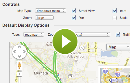 Add a Google map to your website