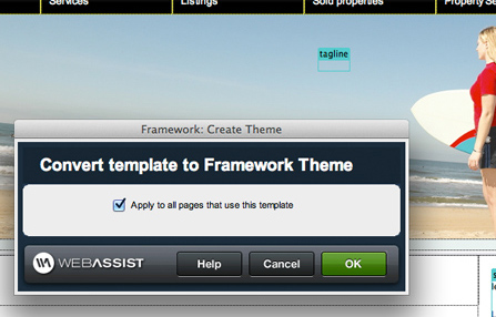 Framework Builder tools