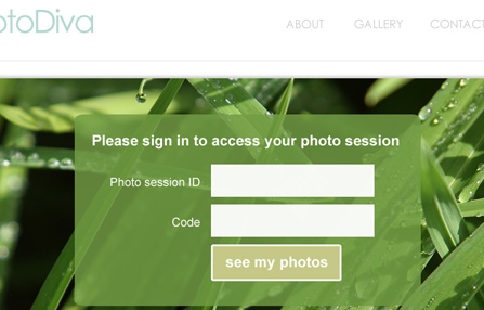 User registration web application
