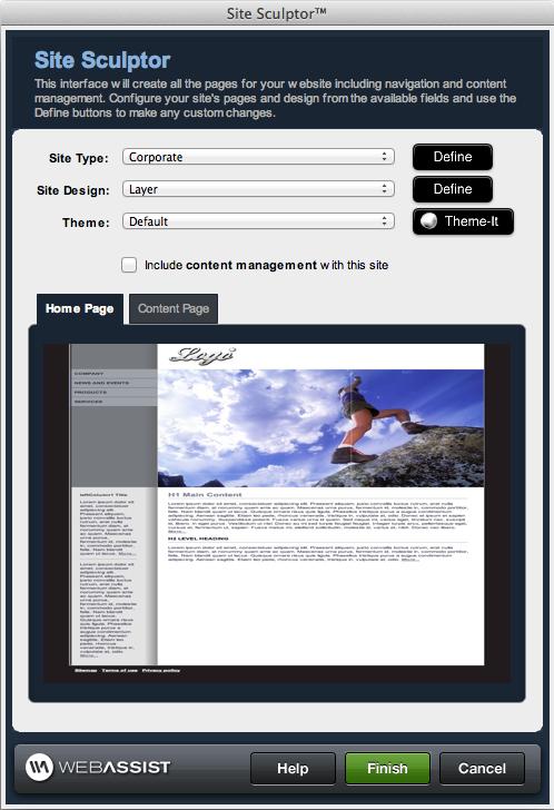 Website Builder | Dreamweaver Extension | Webassist